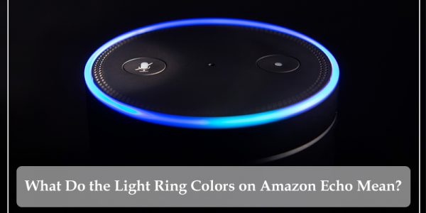 Light Ring Colors on Amazon Echo