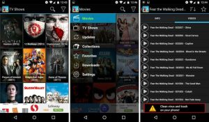 CartoonHD APK preview in Mobile