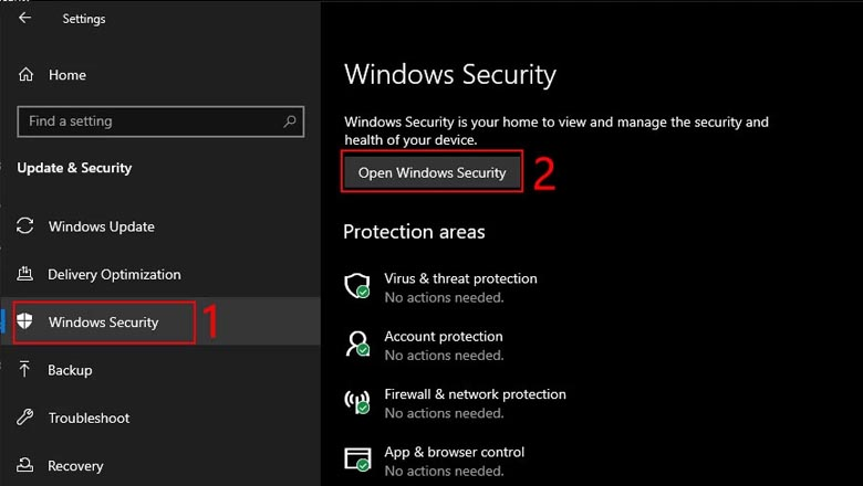 Security for Windows