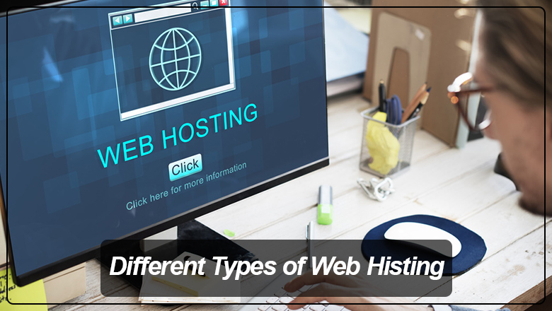 different types of website hosting