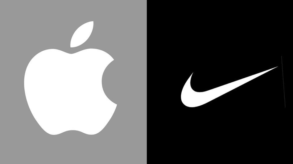 Apple and Nike logo